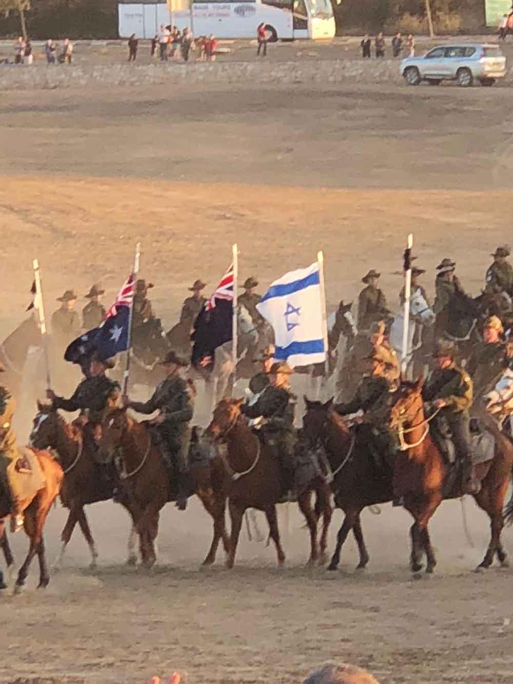 100th anniversary of Lighthorse battle